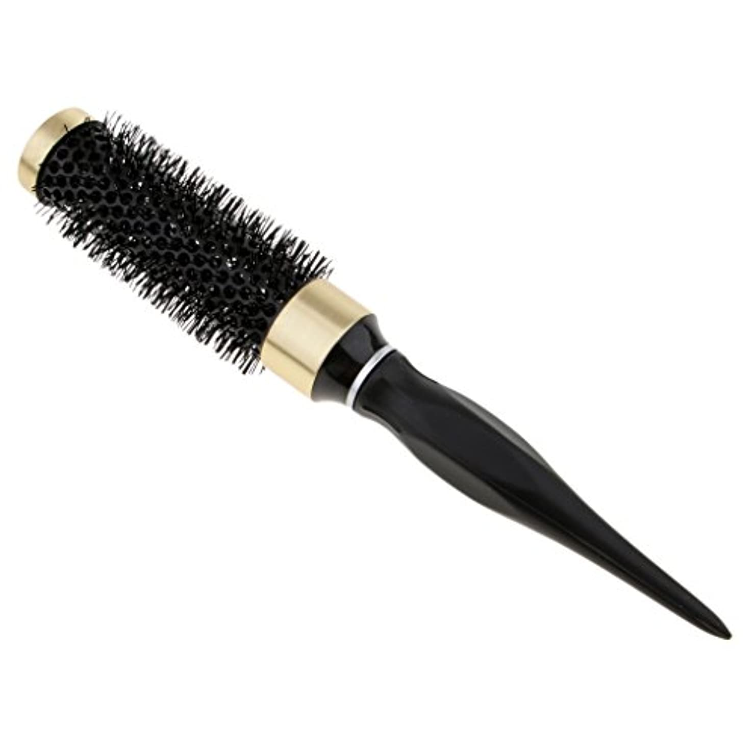 夜の動物園揮発性確認ロールブラシ 耐熱仕様 ブロー カール 巻き髪 ヘアブラシ 櫛 全5サイズ - 32mm