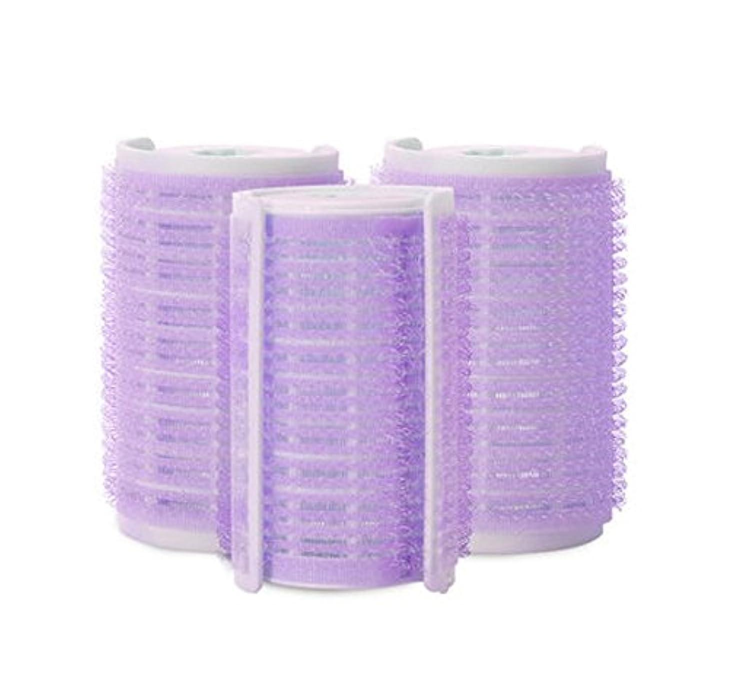 せっかち論理的許可プラスチック製のDIYグリップ粘着ヘアローラーカーラーヘアドレス、3ピース-W2