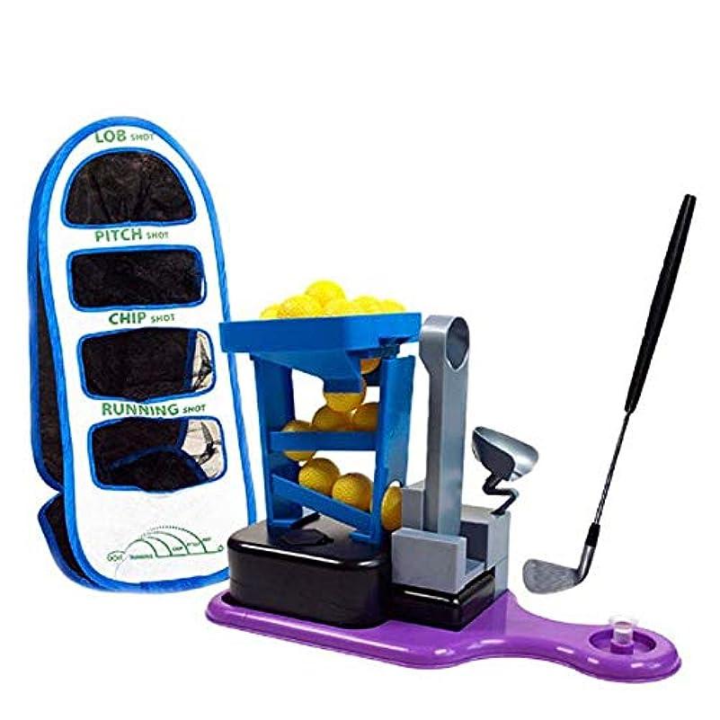カード花火シャイニング軽量ゴルフおもちゃ 音と光の効果音レジャーインドアゴルフスポーツと子供のゴルフクラブのおもちゃセット 広く使われています (色 : Photo color, Size : 62.9x9.4x23.5cm)