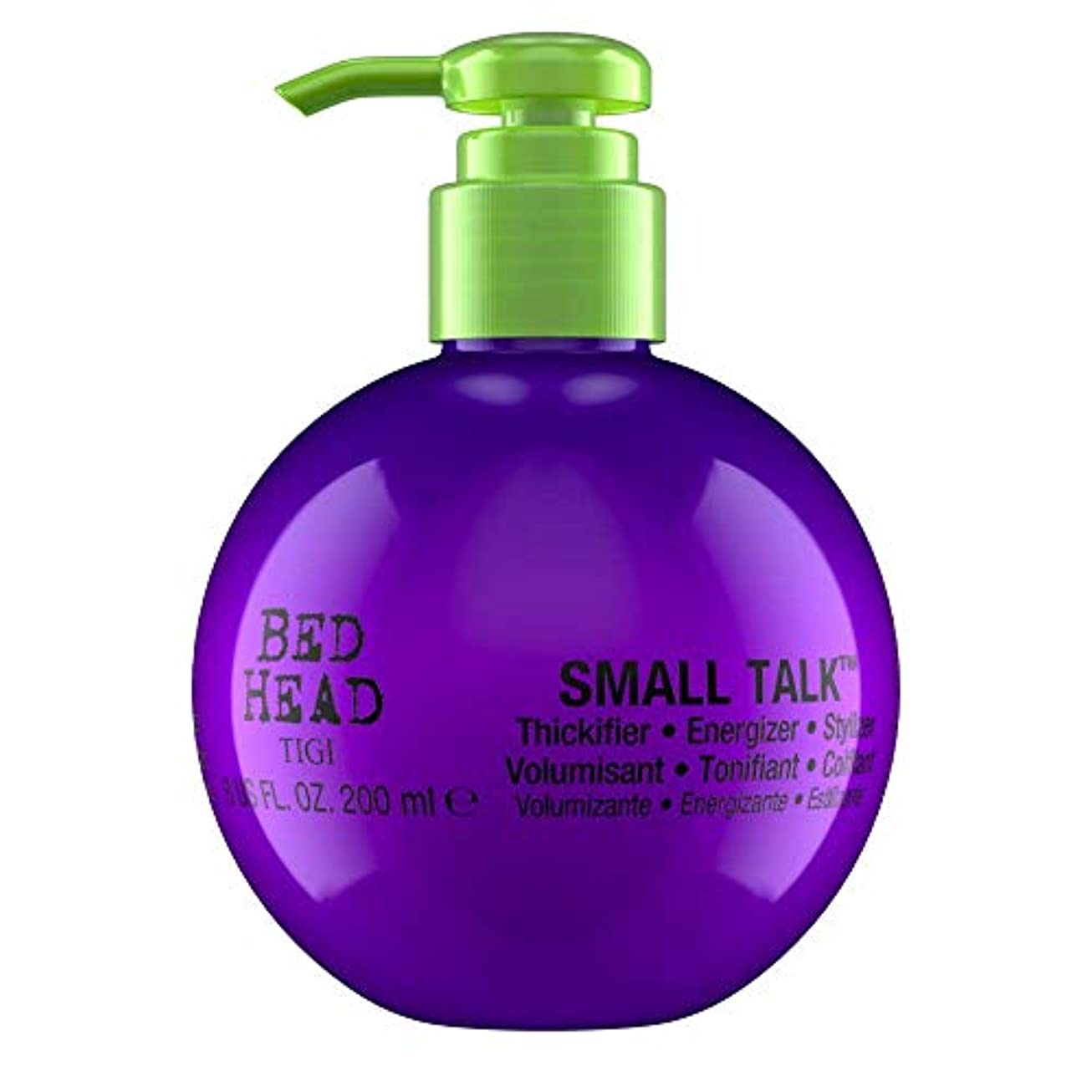 収束する発明ドラムTigi Bed Head Small Talk 200ml