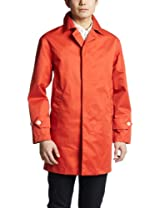 Polyester Cotton Twill 3 Layer Coat 1225-199-6470: Orange
