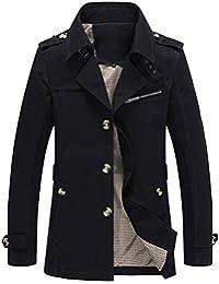 トレンチコート メンズ テーラードジャケット アウター コート スプリング 秋冬春 スタイリッシュ ボタン 綿 テラジャケ テラード シンプル カジュアル ビジネス