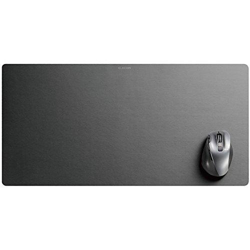 エレコム マウスパッド/超大判/ブラック MP-DM01BK 1個
