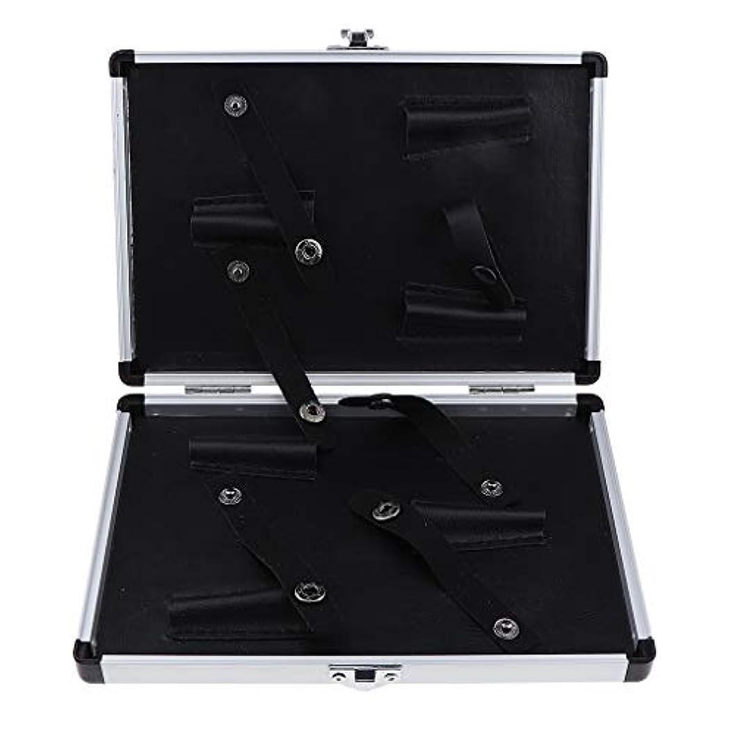 限定ブリークCUTICATE シザーケース 美容師 はさみ 収納ケース キャリーケース オーガナイザー 2サイズ選べ - 22x15.5x3 cm