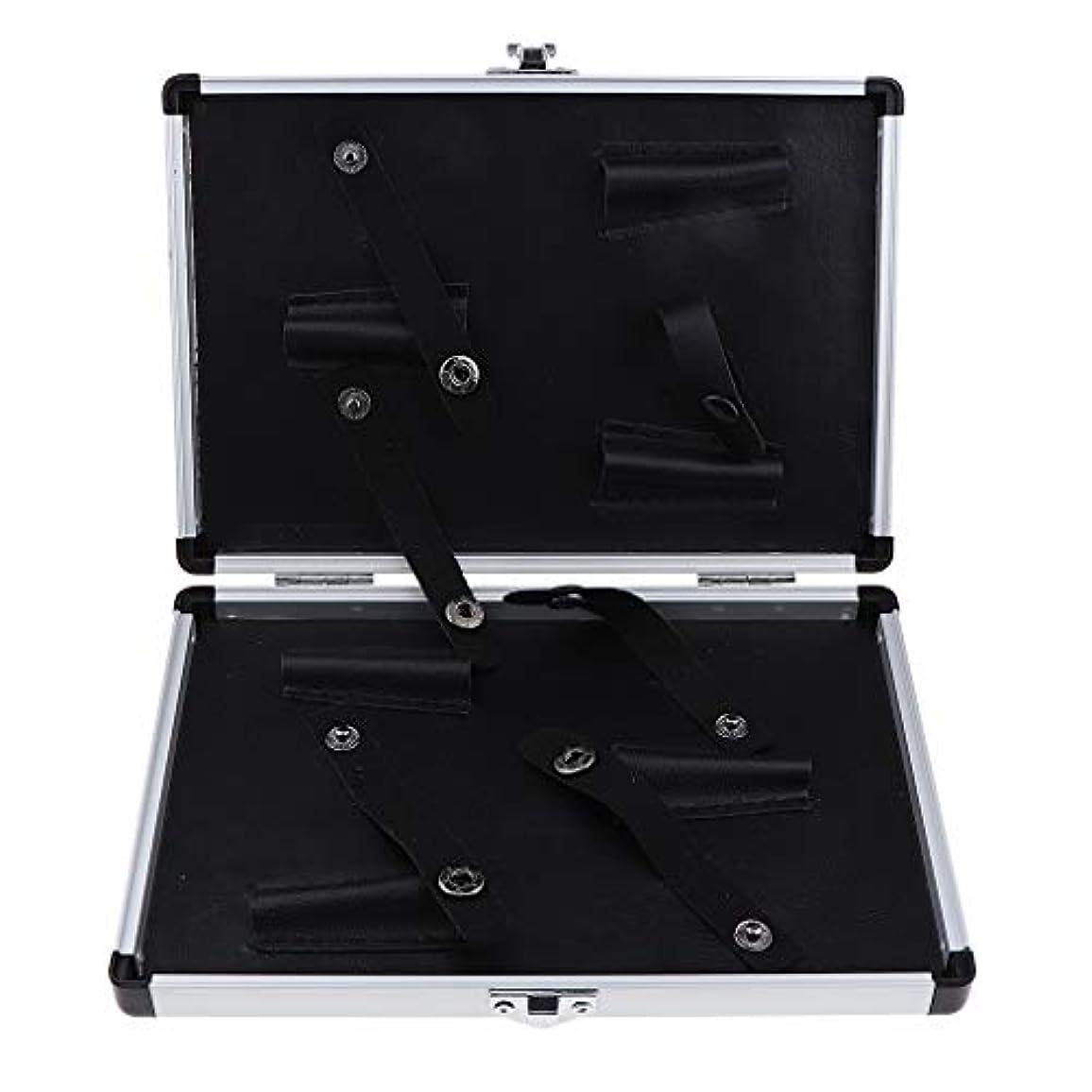 非難器用あなたのものCUTICATE シザーケース 美容師 はさみ 収納ケース キャリーケース オーガナイザー 2サイズ選べ - 22x15.5x3 cm