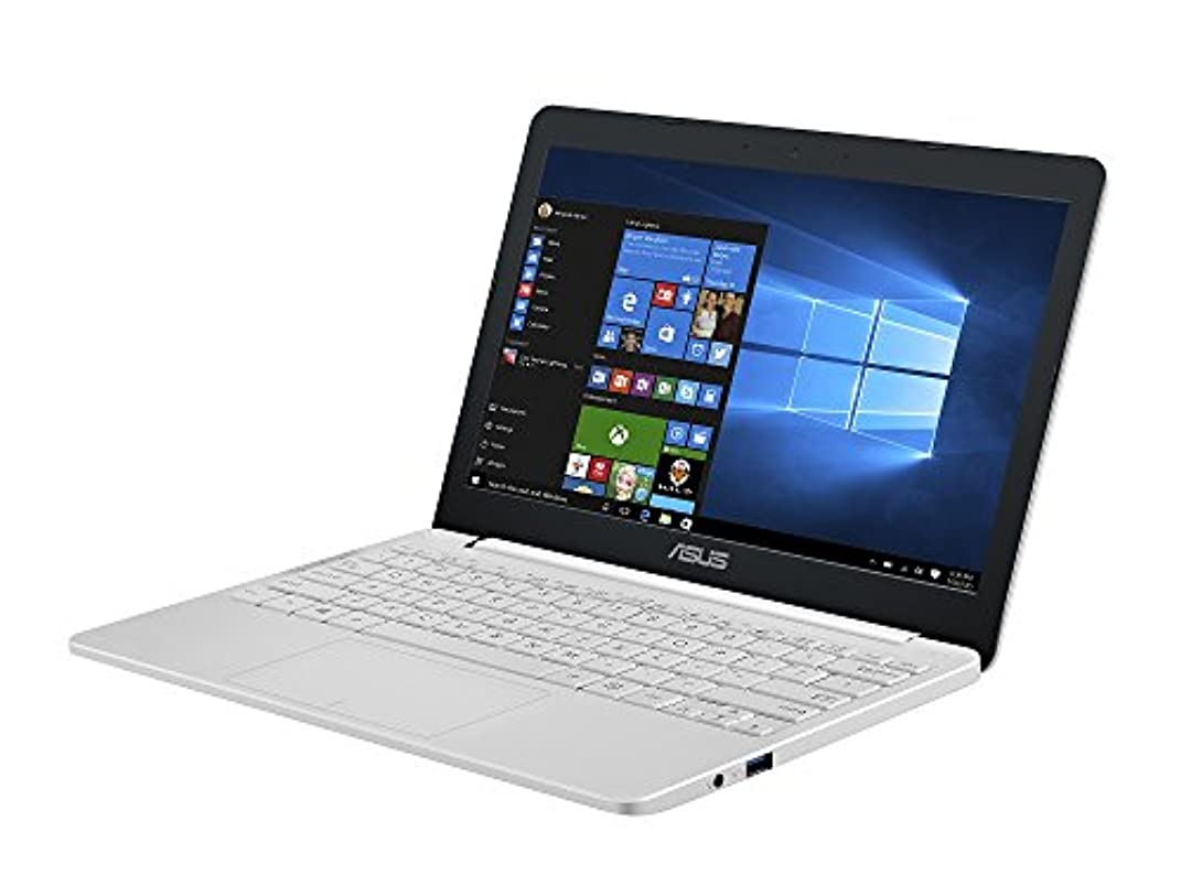 アサー下に委員会ASUS VivoBook E203NA ノートPC(パールホワイト/11.6 (1366x768)/N3350/2.4GHz/2MB/4G/64G EMMC/802.11ac/BT4.1/Win10 Home 64B)