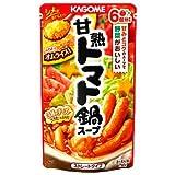 カゴメ  甘熟トマト 鍋スープ 750g (鍋の素)×12個 4901306024355*12