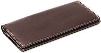 (マルカワジーンズパワージーンズバリュー) Marukawa JEANS POWER JEANS VALUE 財布 メンズ 長財布 二つ折り 本革 牛革 3color Free ダークブラウン