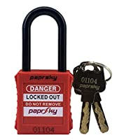 DIELECTRIC SHORT SHACKLE SAFETY PADLOCK
