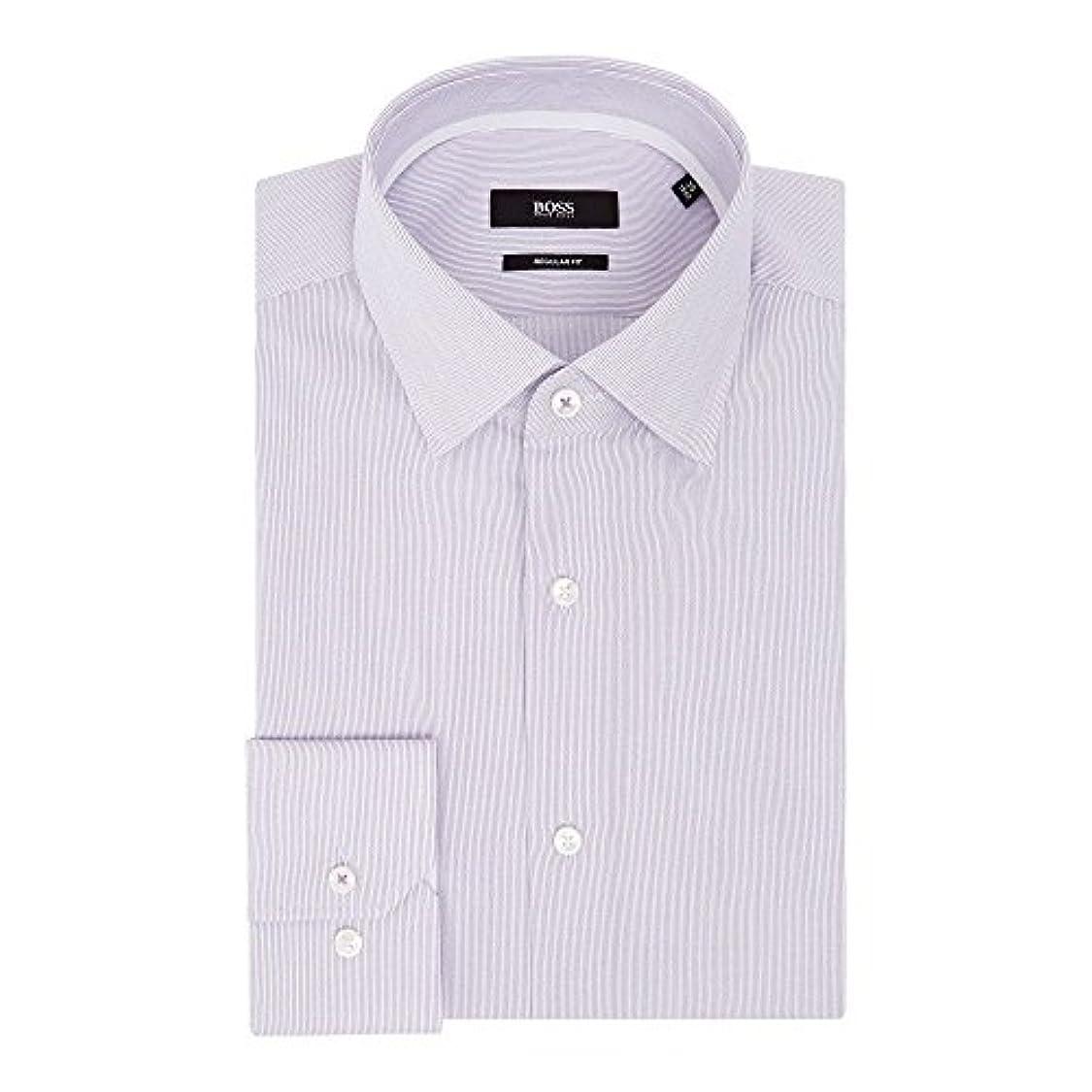 この豚間違えた(ヒューゴ ボス) Hugo Boss メンズ トップス シャツ Gelson Regular Fit Fine Stripe Shirt [並行輸入品]