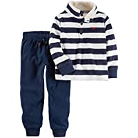 Carter's Boys' 3M-4T 2 Piece Long Sleeve Top And Pants Set 3 Months