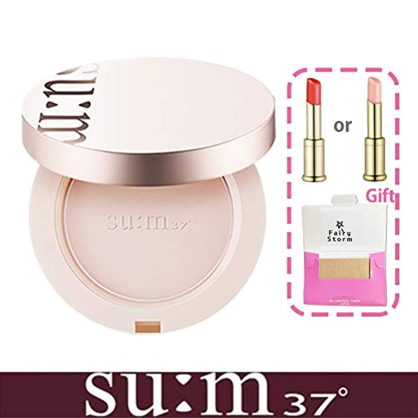 分布恥枕[su:m37/スム37°] Sun-away Mild Tone-up Sun Pact SPF50+/PA++++/ライン - アウェイマイルドトンオプ線ファクト+[Sample Gift](海外直送品)