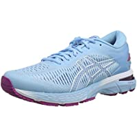 ASICS Australia Gel-Kayano 25 Women's Running Shoe, Black/Glacier Grey