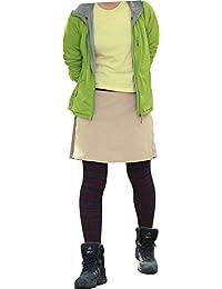 [LAD WEATHER]トレッキング スカート キュロット はっ水 防汚 防油 速乾 耐久性 スポーツ アウトドア レディース