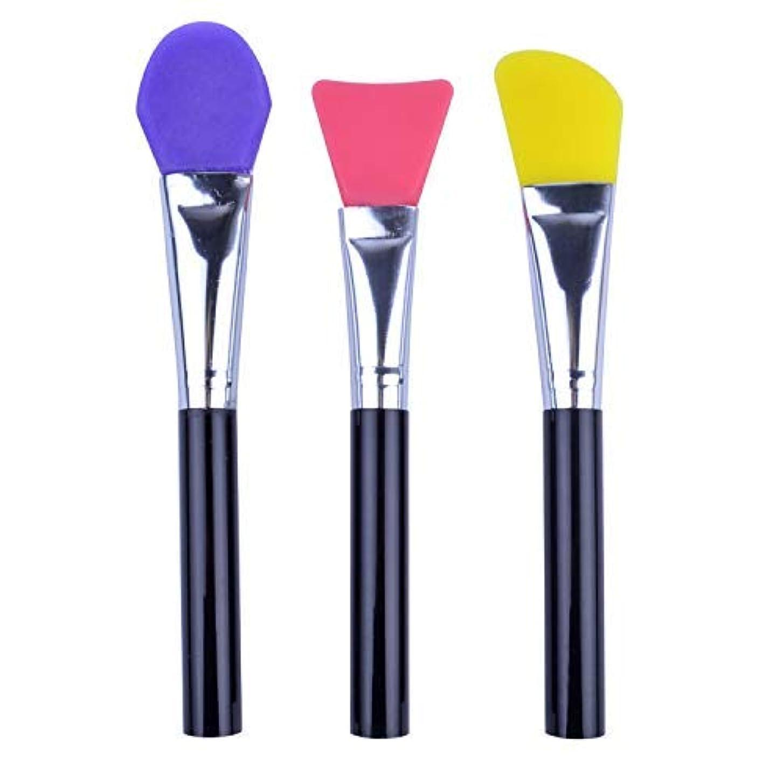 市長許す市区町村マスクブラシ 多機能ツール 化粧用具 マスクマッド メイクブラシ 3本 三つ色