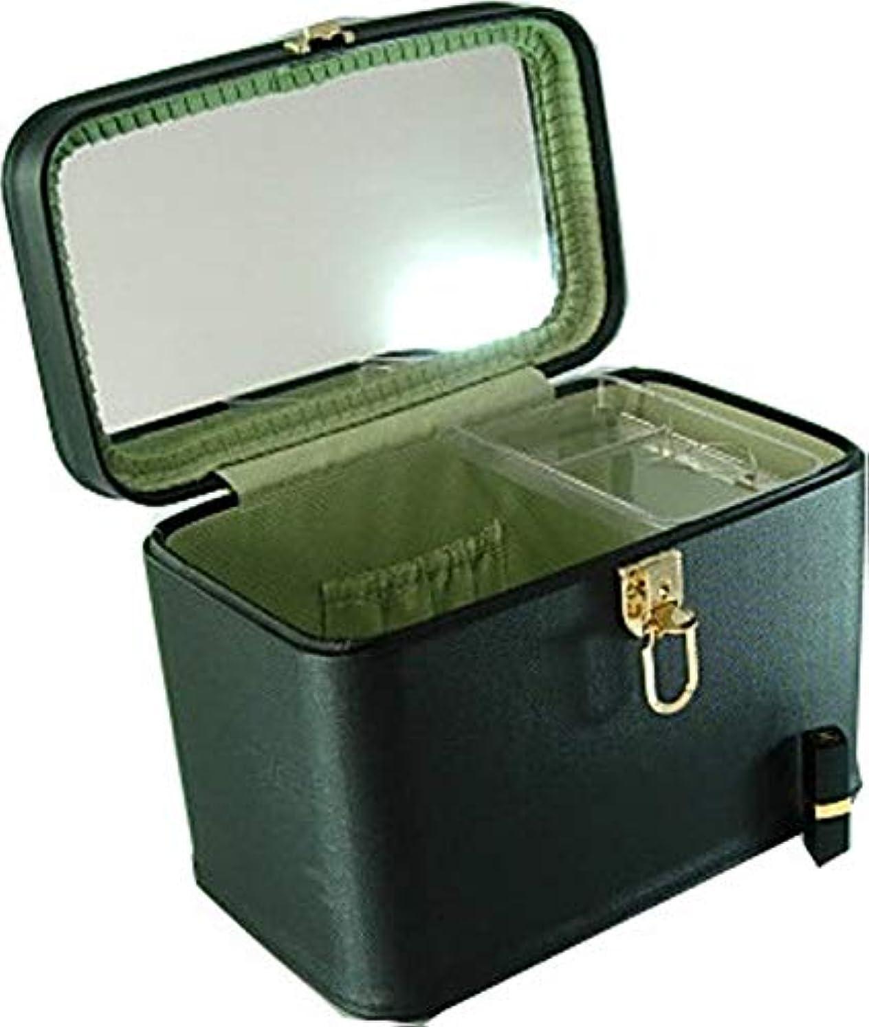モンゴメリー木曜日アレルギー性メイクボックス コスメボックス トリプルG2 33cm ヨコパールブラック 日本製 メイクボックス,コスメボックス,メイクアップボックス,トレンチケース,お化粧入れ,化粧雑貨,メーキャップボックス,化粧箱,かわいい,メイク...