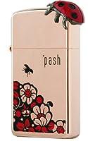 【ZIPPO】 pash bug and flower ps-bf02