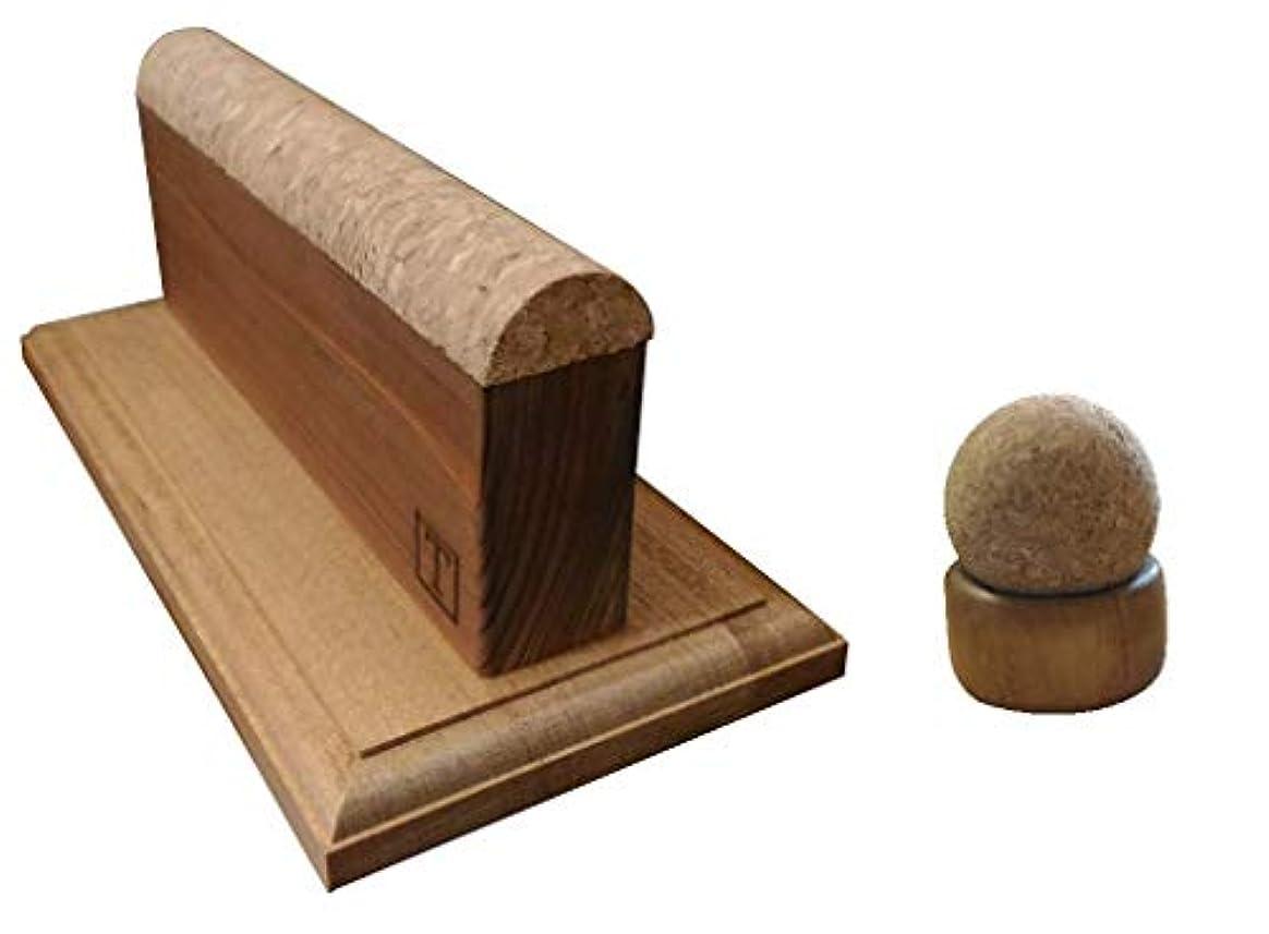 発音する溶接公式『揉みの木シリーズ 極 & 腰きらりのセット』脇 肩甲骨外側 首 ふくらはぎ 側頭部 顔 腰 骨盤等 セルフマッサージを強力にサポート