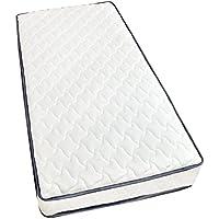 タンスのゲン ポケットコイルマットレス 極厚18cm シングル 高密度 コイル数465個 圧縮梱包 ホワイト AM 000055 00