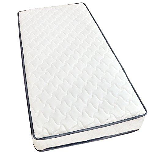 タンスのゲン ポケットコイルマットレス 厚み18cm シングル 高密度 コイル数465個 圧縮梱包 ホワイト AM 000055 00