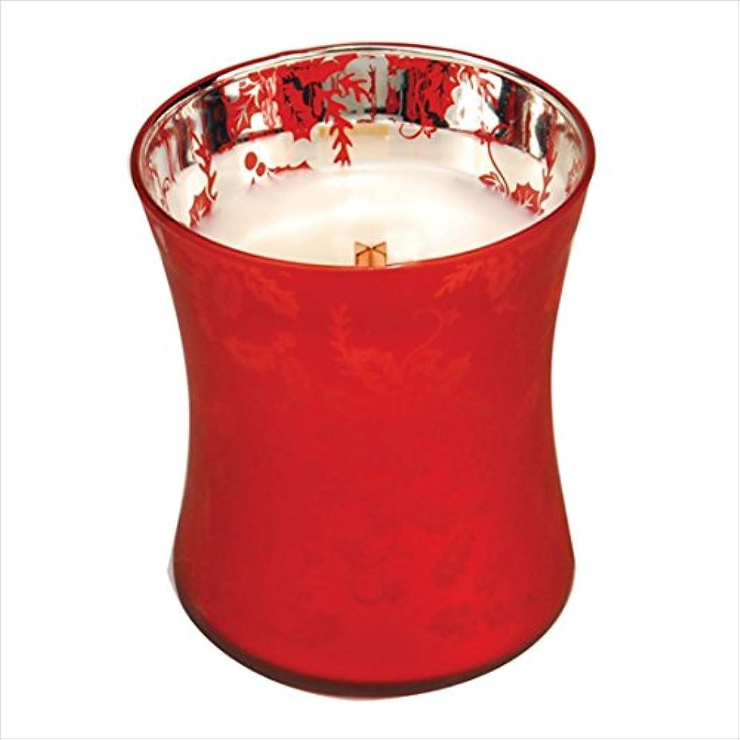 一般的にファランクス目を覚ますWood Wick ウッドウィック ダンシンググラスジャーキャンドルMサイズ  ウェルカムクリスマス