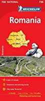Romania - Michelin National Map 738 (Michelin National Maps)