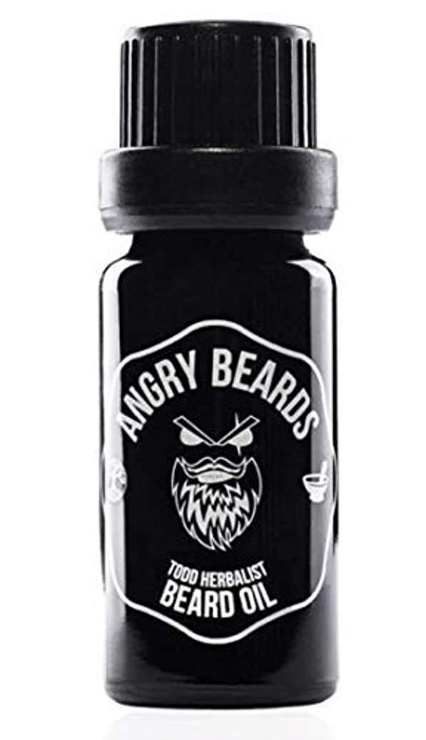 束ねる発動機プレミアTodd Herbalist Beard Oil by Angry Beards 10ml / Todd Herbalistビアードオイルby Angry Beards 10ml チェコ製