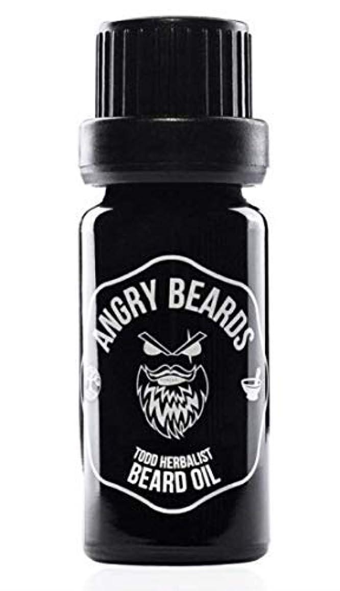タイル遺棄された同化するTodd Herbalist Beard Oil by Angry Beards 10ml / Todd Herbalistビアードオイルby Angry Beards 10ml チェコ製