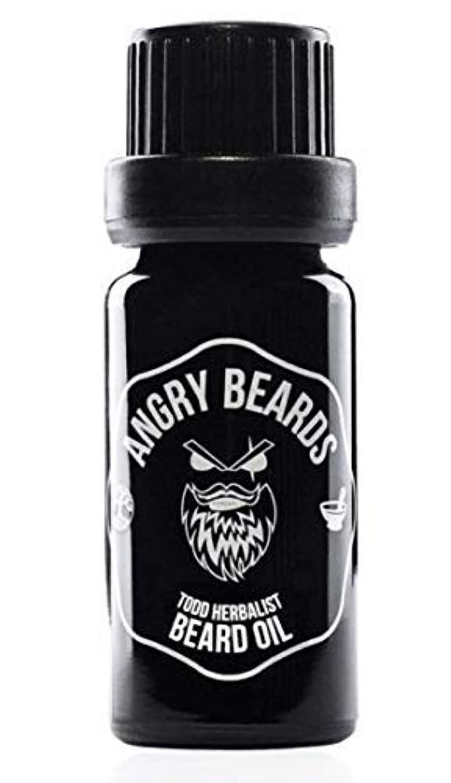 ヤギ自信があるありそうTodd Herbalist Beard Oil by Angry Beards 10ml / Todd Herbalistビアードオイルby Angry Beards 10ml チェコ製