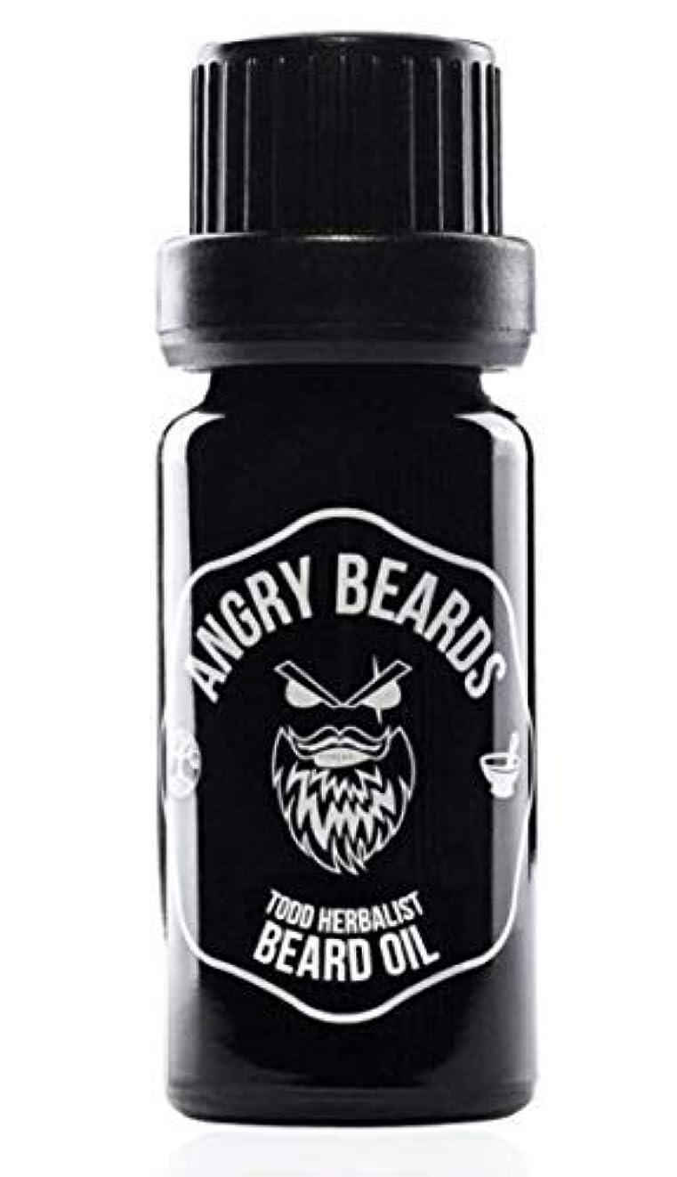 ラベル周り技術的なTodd Herbalist Beard Oil by Angry Beards 10ml / Todd Herbalistビアードオイルby Angry Beards 10ml チェコ製