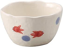 萬古焼 麺の器 そば千代口 ておこし 金魚 15418
