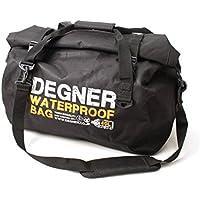 DEGNER(デグナー) ウォータープルーフボストンバッグ ポリエステル/PVC ブラック H34xW50xD28.5(cm) NB-115