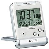 CITIZEN シチズン 目覚まし時計 電波時計 トラベル..