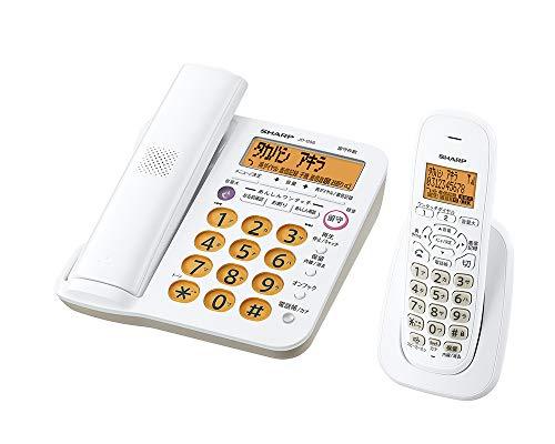 シャープ 電話機 コードレス 親機コードレス 子機1台 JD-G56CL
