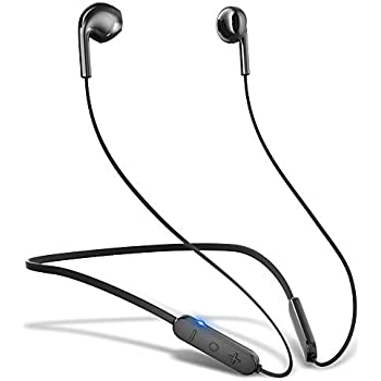 GUSGU Bluetooth イヤホン 10時間再生 HiFi高音質 Bluetooth5.0 CVC8.0 IPX6防水 ワイヤレス イヤホン
