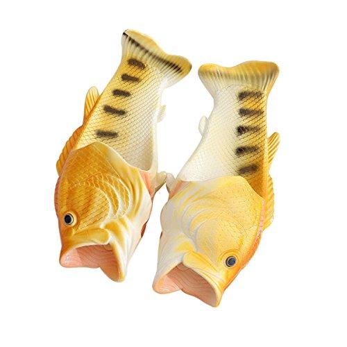 [해외]Aliciga 물고기 형 재미 샌들 가볍고 통기성 편안한 좋고 나쁨 갖춤 친자 신발 평소 신기 해변 바다 여행 온천 초현실적 남성 여성 남녀 겸용/Aliciga fish type funny sandal lightweight breathable easy to walk easy to match your parents shoe...