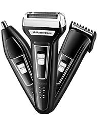 多機能電気シェーバーキットUSB充電式電気オールインワントリマーかみそりシェーバー男のギフト