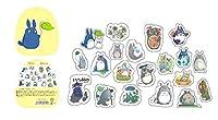 60ピース/パックかわいいトトロステッカーPvcクリア装飾ステッカー日記アルバムDIYスクラップブッキング日本のステッカーステッカー紙 SR5 (3)