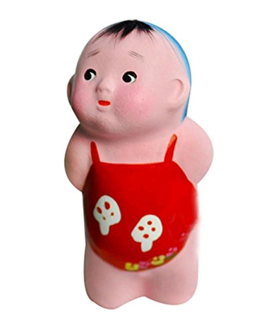 2個クリエイティブ粘土彫刻中国粘土人形かわいいデコレーションクレイ
