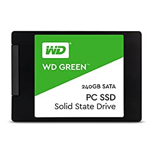 WD SSD 内蔵SSD 2.5インチ 240GB WD Green SATA3.0 6G / 3年保証 / WDS240G1G0A