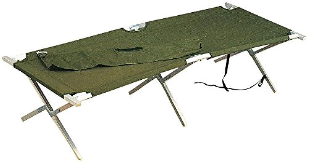 認可バーター先にRothco GiスタイルアルミCamp Plus Cot with bag , Olive Drab