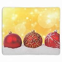 ゲーム用マウスパッド テーブルマット 厚さ3mmのゴム製 クリスマスの飾り 滑り止め ラップトップ