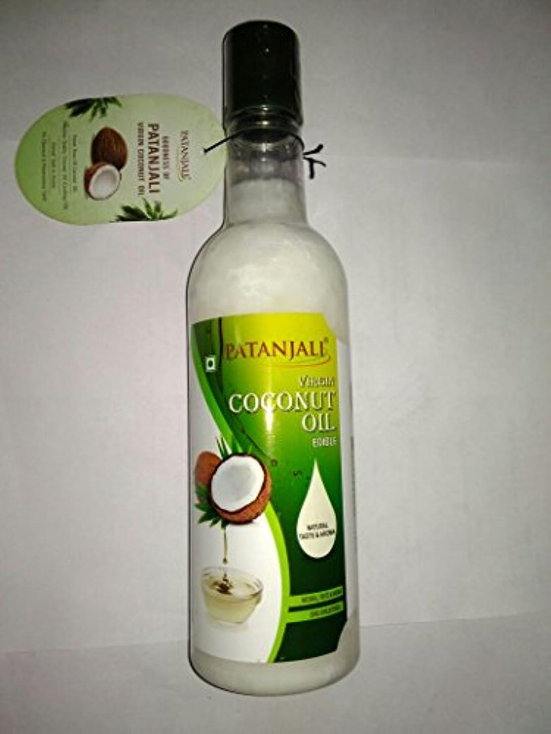 一生コジオスコ陰気Patanjali Virgin Coconut Oil, 500ml