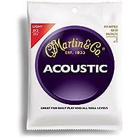 Martin アコースティックギター弦 ACOUSTIC(80/20 Bronze) Multi Packs M-140 PK3 Light .012-.054