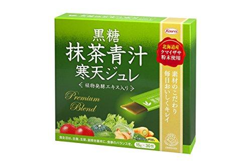KOWA 黒糖抹茶青汁寒天ジュレ