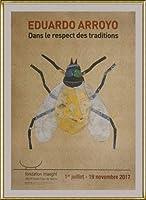 ポスター エドゥアルド アロヨ Dans Le Respect Des Traditions 額装品 アルミ製ハイグレードフレーム(ゴールド)