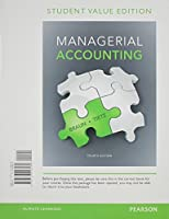 Managerial Accounting Student Value Edition (4th Edition) [並行輸入品]