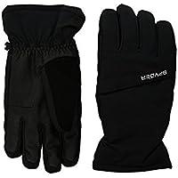 スパイダー Spyder Glove Black Astrid Ski Gloves (Big Kids) [並行輸入品]