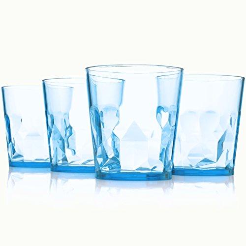 【日本製】250ml プレミアム サマー グラス - 4個セッ...