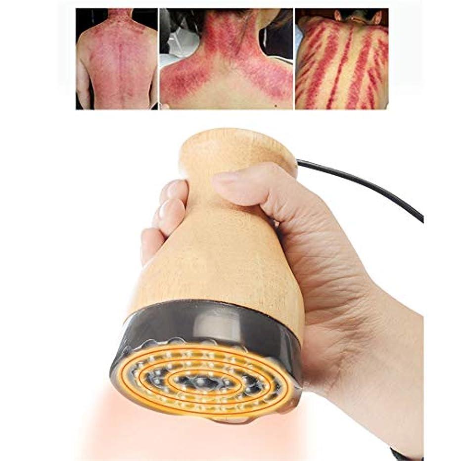 異常な集団的ドラムボディ解毒、痛みや減量脂肪バーナーのための1つのホットスクレイピングカッピングセラピー電気マッサージ器内の負圧マッサージ、3